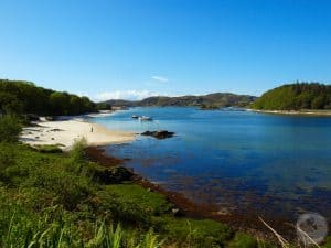 White Sands of Morar, Scotland