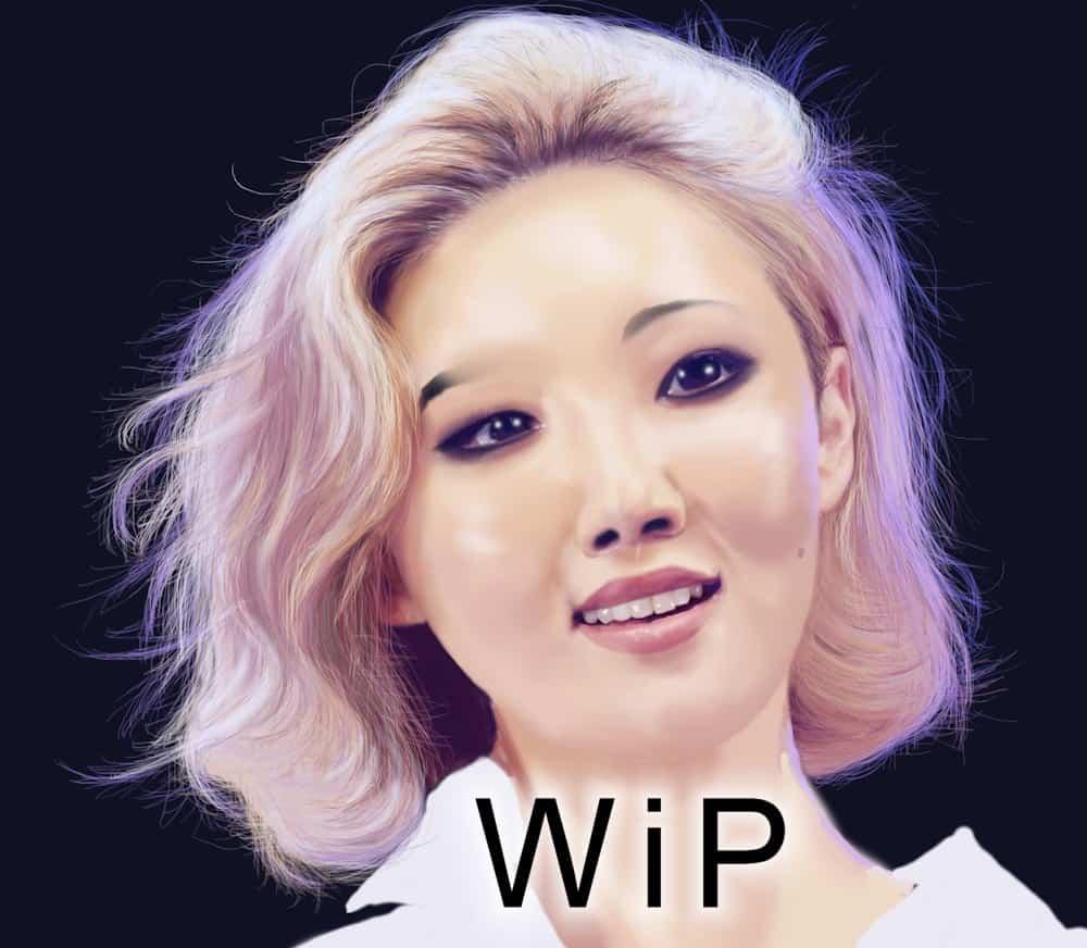 Hwasa WiP - by Vany